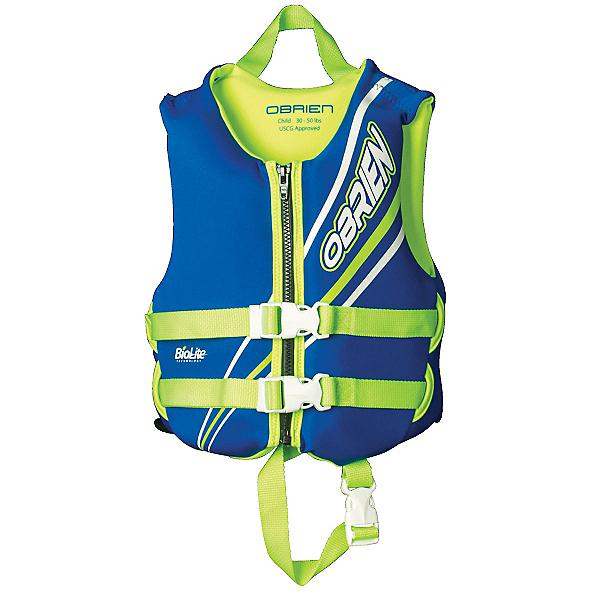 O'Brien Blue Toddler Life Vest 2017, , 600