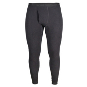 Hot Chillys La Montana Fly Mens Long Underwear Pants, Black, medium