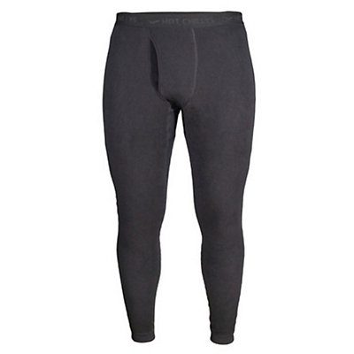Hot Chillys La Montana Fly Mens Long Underwear Pants, Black, viewer