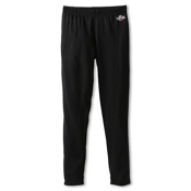 Hot Chillys Midweight Kids Long Underwear Bottom, Black, medium