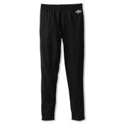Hot Chillys Midweight Kids Long Underwear Bottom, Black, medium