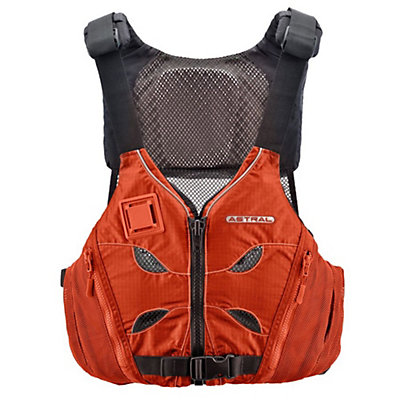 Astral V-Eight Adult Kayak Life Jacket 2017, Orange, viewer