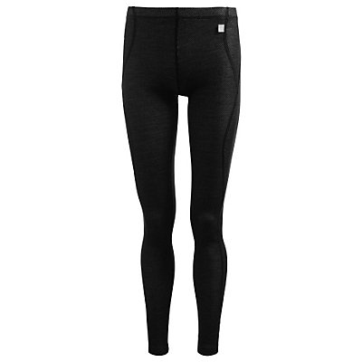 Helly Hansen Warm Womens Long Underwear Pants, Black-Penguin, viewer