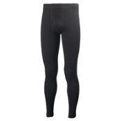 Helly Hansen Warm Mens Long Underwear Pants, Black, medium