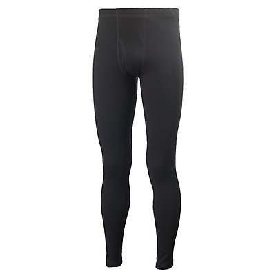 Helly Hansen Warm Mens Long Underwear Pants, Black, viewer