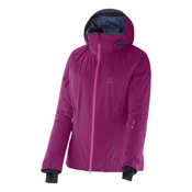 Salomon Whitemount GTX MF Womens Insulated Ski Jacket, Mystic Purple, medium
