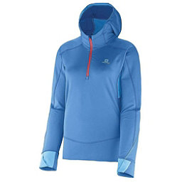 Salomon Swift II Womens Mid Layer, Methyl Blue-Blue Line, 256
