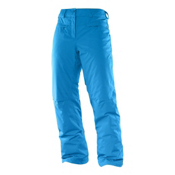 Salomon Impulse Womens Ski Pants, Methyl Blue, medium