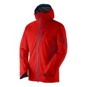 Salomon Quest Motionfit Mens Shell Ski Jacket, Matador X, medium