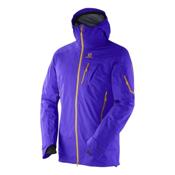 Salomon Quest Motionfit Mens Shell Ski Jacket, Spectrum Blue, medium