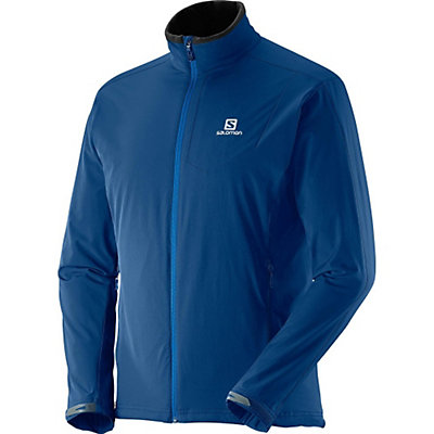 Salomon Nova Soft Shell Jacket, Midnight Blue, viewer