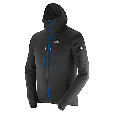 Salomon SoulQuest BC Mens Jacket, Victory Red-Midnight Blue, viewer