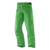 Salomon Fantasy Mens Ski Pants, Bud Green, medium