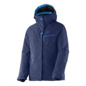 Salomon Snowink Girls Ski Jacket, Abyss Blue, medium