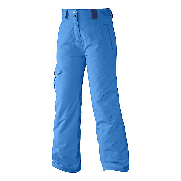 Salomon Sashay Girls Ski Pants, Methyl Blue, 600