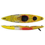 Pyranha Fusion M River Kayak 2015, Yellow-White-Jaffa, medium