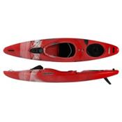 Pyranha Fusion M River Kayak 2015, Red-White-Grey, medium