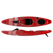 Pyranha Fusion L River Kayak 2015, Red-White-Grey, medium
