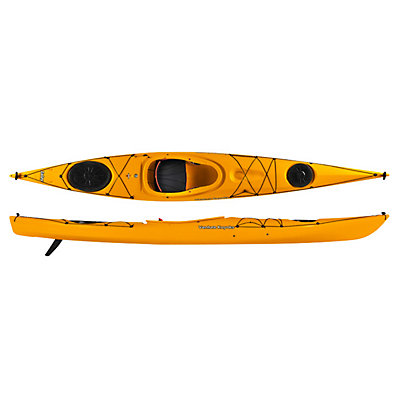 Venture Kayaks Islay 14 LV Light Touring Kayak 2016, Yellow, viewer
