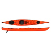 Venture Kayaks Islay 14 LV Light Touring Kayak 2015, Lava, medium
