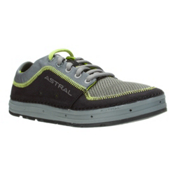 Astral Brewer Mens Watershoes, Black-Lime, medium