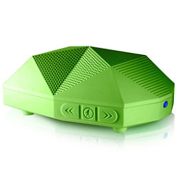 Outdoor Tech Turtle Shell 2.0 Wireless Bluetooth Speakers, Green, 256