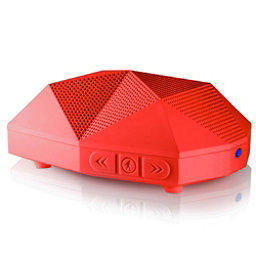 Outdoor Tech Turtle Shell 2.0 Wireless Bluetooth Speakers, Red, 256