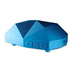Outdoor Tech Turtle Shell 2.0 Wireless Bluetooth Speakers, Electric Blue, 256
