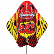 SportsStuff Manta Ray Inflatable Sled, , medium