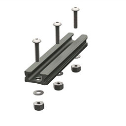 YakAttack GearTrac Aluminum Mounting Track - 4 in. 2017, , 256