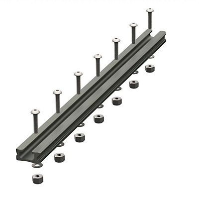 YakAttack GearTrac Aluminum Mounting Track - 12 in. 2017, , viewer