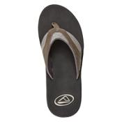 Reef Fanning TX Mens Flip Flops, Black-Dark Grey, medium