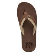 Reef Jones Mens Flip Flops, Brown, medium