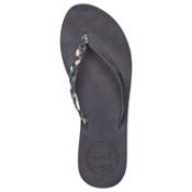 Reef Premium Twyst Womens Flip Flops, Blue, medium