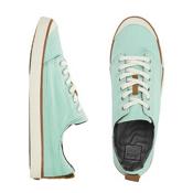 Reef Girls Walled Low Womens Shoes, Aqua, medium