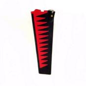 Hobie Mirage Turbo Fin Replacement 2017, Red-Black, medium
