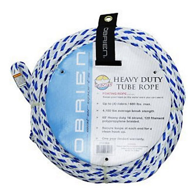 O'Brien Floating 4 Person Towable Tube Rope, , viewer