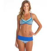 Next Perfection Reversible Sweetheart Bra Bathing Suit Top, Blue, medium