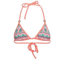 Hurley Phoenix Rev Tri Bra Bathing Suit Top, Pink, 256
