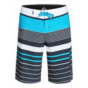 Quiksilver YG Stripe Board Shorts, Hawaiian Ocean Stripe, medium