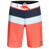 Quiksilver Sunset Future Board Shorts, Mandarin Red, medium
