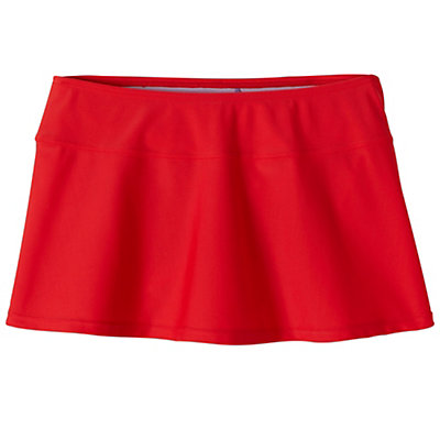 Prana Sakti Swim Skirt, Red, viewer