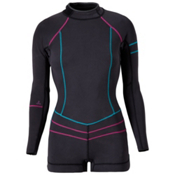 Prana Azura Womens Shorty Wetsuit 2016, Black, medium