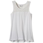 Prana Cassi Womens Tank Top, White, medium