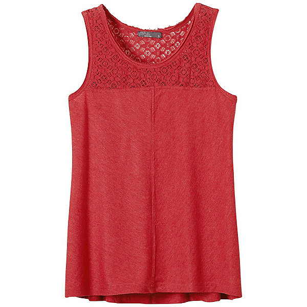 Prana Cassi Womens Tank Top, Sunwashed Red, 600