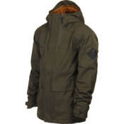 Bonfire Arc Mens Insulated Snowboard Jacket, Bunker, medium