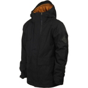 Bonfire Arc Mens Insulated Snowboard Jacket, Black, medium