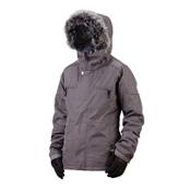 Bonfire Safari Womens Insulated Snowboard Jacket, Iron, medium
