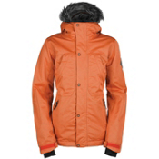 Bonfire Safari Womens Insulated Snowboard Jacket, Apricot, medium