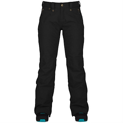 Bonfire Heavenly Womens Snowboard Pants, Black, viewer